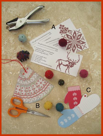 Knit tags